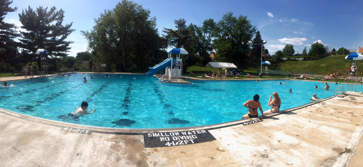 Borough of Baldwin pool