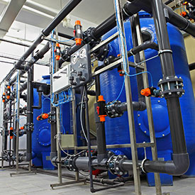 commercial backwash filtration system