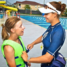 Junior lifeguarding program