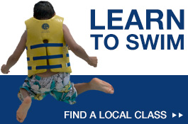 learn how to swim with swimming classes from Jeff Ellis Management