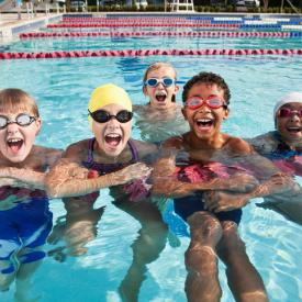 RMR Swim Team class at Rolling Meadows Park District