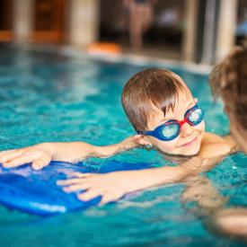 Private Swim Lesson class at Robinson Township Pool