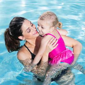 Preschool and Parent Swim Class