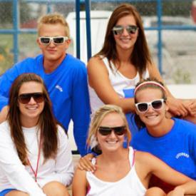 Lifeguards group photo