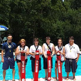 Junior lifeguarding class with Jeff Ellis Management
