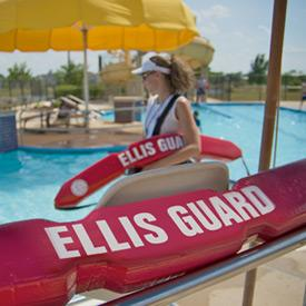 Jeff Ellis Management trained lifeguard