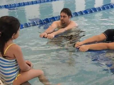 Quality time with your toddler in swimming lessons