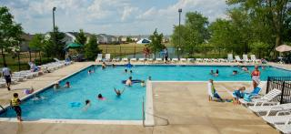 Swimmers at Lakewood Springs North