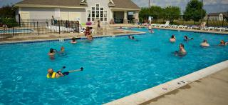 Swimmers at Lakewood Springs South