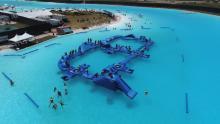 Aerial view of Aqua Park
