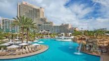 pool at Orlando World Center Marriott