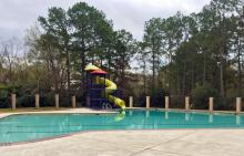 Atascocita Shores pool and waterslide
