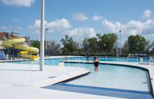 Caporella Aquatic Center Pool