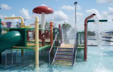 Caporella Aquatic Center Recreation Pool
