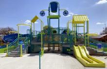 Corinne J. Rose Splash Zone water slides
