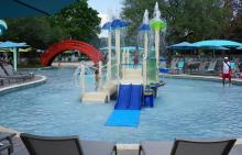 Hilton Anatole Childrens Water Playground
