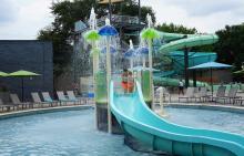 Hilton Anatole Childrens Water Slide