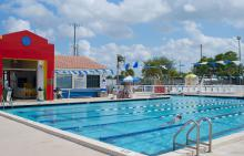 Jerry Resnick Aquatic Center Pool