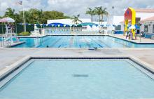 Pools at Jerry Resnick Aquatic Center