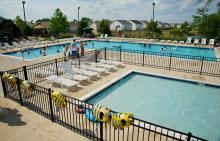 Two pools at Lakewood Springs North