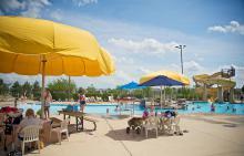Liberty Grove pool area