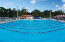 Swimmers at Patrick J. Meli Park